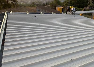 Photo de chantier pour Delta Meca - Bardage