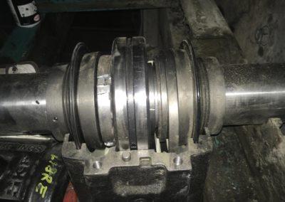 Photo chantier Friedlander - Maintenance roulement
