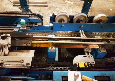 Photo de chantier Siemens - Montage convoyeur